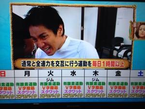 徳井ダイエットメニュー