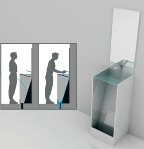 手洗い付き小便器