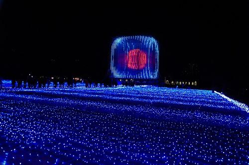 光のビッグブルー