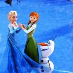 """2014ファミリーマートのクリスマスケーキに""""アナと雪の女王""""が!"""